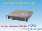 HF1~3KVA 220VAC LCD DISPLAY RACK MOUNT ON LINE UPS