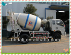 Top design Famous Foton 4*2 small concrete mixer