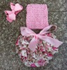 infant baby dress set with headband