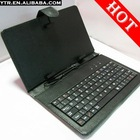 "7 inch Colorful Leather Case w/ Mini Keyboard Bracket Cover for 7"" apad epad mid tablet pc New Arrival"
