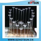 romantic acrylic wedding candlestick