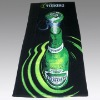 velvet reactive printed beach towel