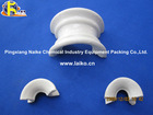 Ceramic Intalox Super Saddles For Distillation Column
