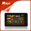 7 inch android 2.3 A10 Cortex A8 1GHz capacitive 800*480 resolution DDR2 512M built in 4GB tablet pc