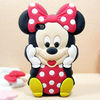 3D Minnie Soft Silicone Cover Case for Apple iPhone 5