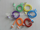 iPhone/iPad/iPod cable noodle flat USB 2.0 version