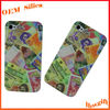 Promotional Gift LOGO colorful print mobile phone skin silicone cover for 4G /4S/5G