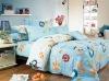 cotton bedding fabric for kidz