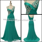 hot sell elegant evening summer dresses qy659