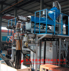 XSD double layer compounding plastic tape making machine