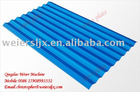 PVC roofing tile making machine