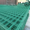 green wire mesh panel fence