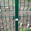 Pvc coated welded 3D fence panel