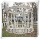 Hand Carved Stone Gazebo For Decoration