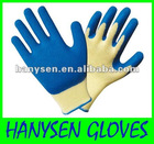 Labour Protective Gloves Latex Coted Safety Gloves