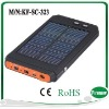 solar charger All-Purpose Power Supply for ipod,mobile,laptop,mp3,mp4