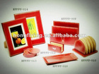 leather photo frame/leather picture frame/picture photo frame