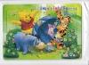 Cartoon animals 35pcs iq puzzle lamp