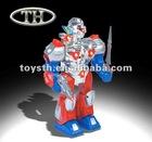 shantou plastic model toy robot warrior