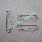 32mm Steel Metal Crimp Badge Safety Pin