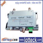 WDM indoor optical node (receiver ), with return transmission