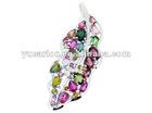 925 silver leaf brooch-HANMADE
