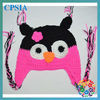 new arrivel cute animal hat owlhat for baby new design of the hots sell beanies