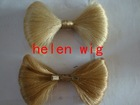 wholesale fashion synthetic hair butterfly /hair bow factory