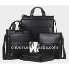 2012 hot sell cow leather men bag