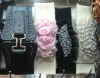 Fashion ladies belt Flower belt PU waist belt BDT10763