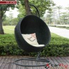 rattan wicker swing hanging egg chair