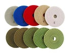 5 Step Wet Diamond Polishing Pads