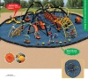 New design - Children outdoor amusement park equipment - Spider man