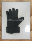 100% polyester polar fleece gloves
