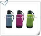 new 1.8L vacuum thermos with cups, plastic thermos bottle with glass inner