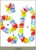 Decorative Artificial Hawaii Flower Lei,Artificial Hawaii Flower Lei Necklace