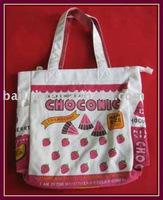 cotton canvas girl's schoolbag BLD-B-012