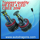 2012 E92 X1 X5 X6 20W H8 CANBUS LED angel eye