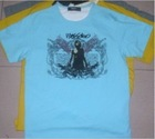 6000pcs Fashion Men's 100% Cotton T-shirt
