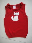 2013 SPRING NEW AMERICAN MARKET GIRL'S SWEATER VEST