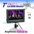 SEETEC potable monitor 7 inch LCD HDMI input monitor with earphone jack