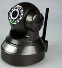 H.264 IP camera with SD slot, NAS drive compatible, infrared night vision and Wireless 802.11b/g/n