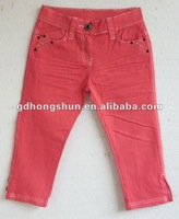 colored kids skinny jeans
