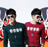 2012new arrival spring&autumn fashion cotton spandex red& dark green long sleeve fashion t shirts for men23TX07