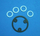 silicone rubber round gasket, round silicone rubber gasket (ROR-S0007)