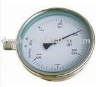 stainless steel gas pressure gauge