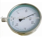 stainless steel gas pressure gauge