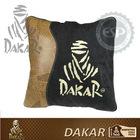 #DK30114 Leather fabric Dakar Licensed Car Travel Blanket