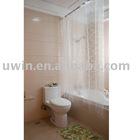 clear vinyl shower curtains,printed clear bath curtain