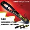 TX-1001 Hand Held Metal Detector